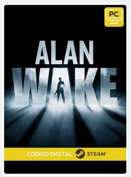 Alan Wake Pc Steam Cdkey Código De 15 Dígitos Envio Rápido