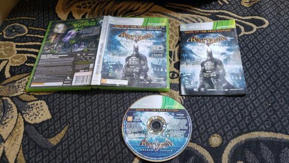 Batman Arkham Asylum Original Para O Xbox 360 Leia Obs V4
