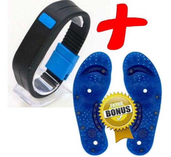 Bracelete 2 Imãs Upower Original 2 Imãs Do Equlibrio