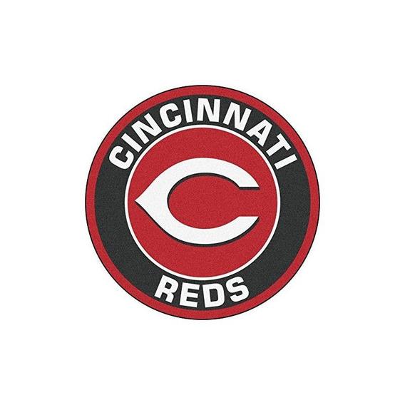Fanmats 18132 Mlb Cincinnati Reds Roundel Mat