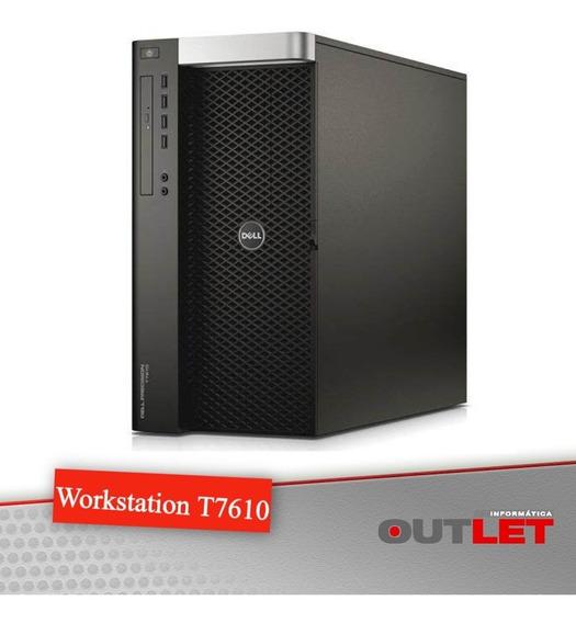 Workstation Dell Precision T7610 X2 Xeon E5-2687w V2 3.40ghz