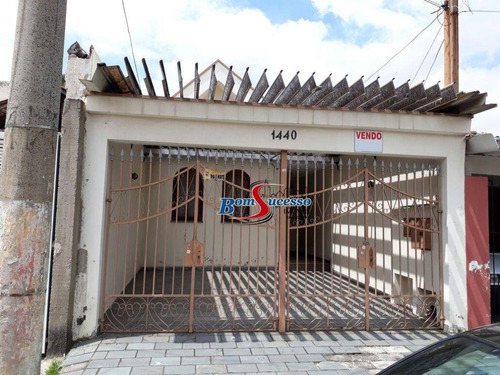 Imagem 1 de 9 de Sobrado À Venda, 210 M² Por R$ 655.000,00 - Tatuapé - São Paulo/sp - So1685