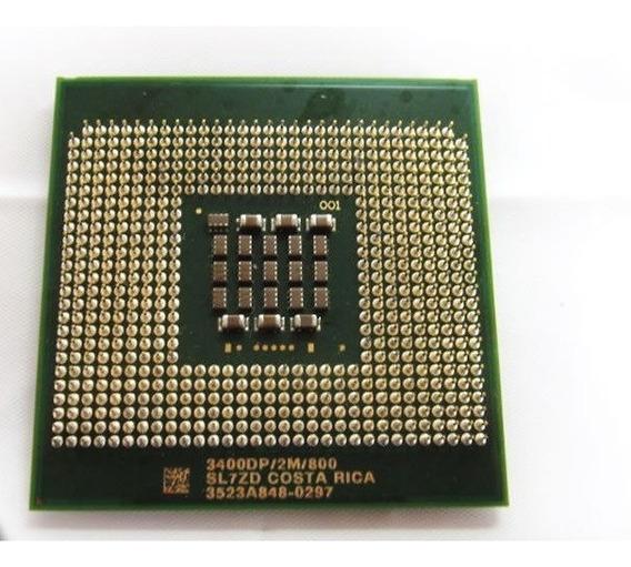 Intel Xeon 3.4ghz 2m 800 Sl7zd Socket 604 Kit 2 Peças