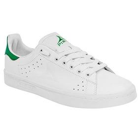 Tenis Casuales Pirma 068 Blanco Verde Y Fucsia Dama Oi