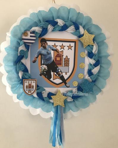 Imagen 1 de 5 de Piñatas Infantiles De Futbol Cumpleaños. Allegracotillones.
