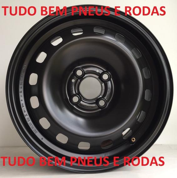 Jogo Roda Ferro Vw Saveiro Gol Voyage Santana 15 Original