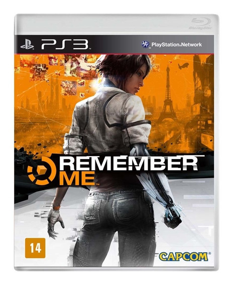 Remember Me Capcom Ps3 Lacrado Mídia Física Legend Português