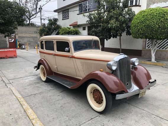 Chysler Plymouth 4 Puertas Año 1933 De Colección