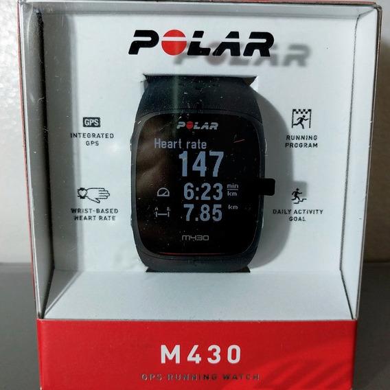 Relógio Monitor Cardíaco Polar M430 Gps Cinza Usado Com Nf-e