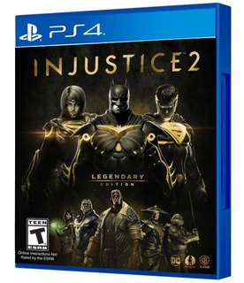 Injustice 2 Legendary Edition Ps4 Fisico, Sellado. Español.