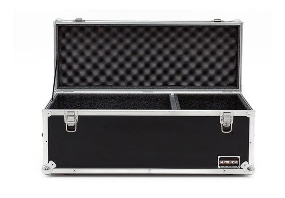 Hard Case 9 Microfones E Espaço Para Cabos E Acessórios