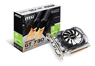 Tarjeta Gráfica Msi Geforce Gt 730 Ddr3 4gb Directx 12