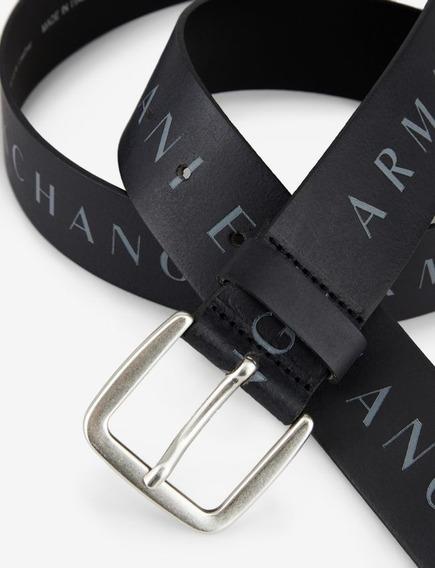 Cinto Armani Exchange 38mm Cuero Original Italy Ax Cinturon