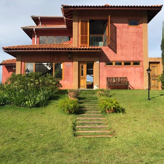 Casa De Frente Para O Lago Em Condominio, 4 Quartos, Piscina - 4060029