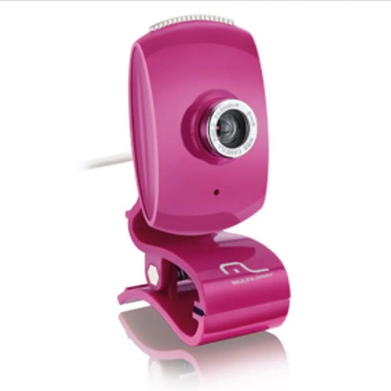Webcam Facelook Com Microfone Usb Multilaser