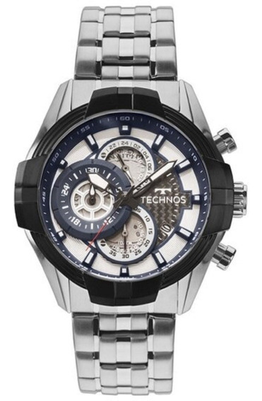 Relógio Masculino Cronógrafo Technos Carbon Js15ev/1p