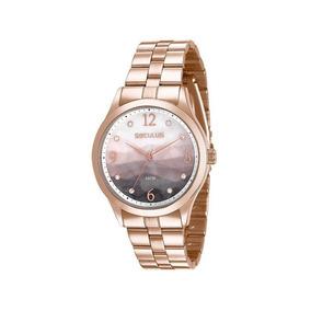 Relógio Seculus Feminino Rosê 77011lpsvrs2