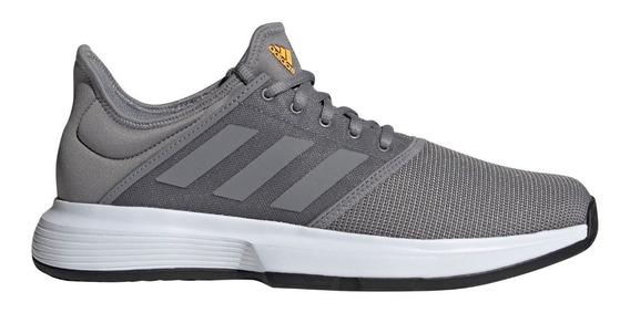 Zapatillas adidas Gamecourt De Tenis Gris De Hombre