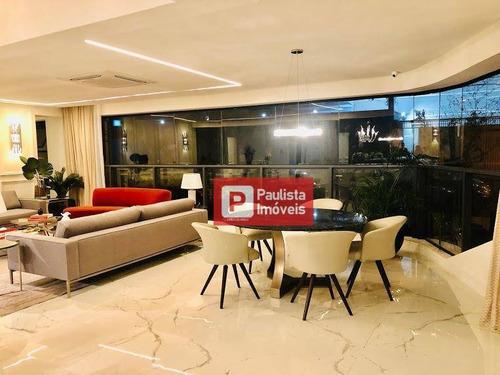 Apartamento À Venda, 227 M² Por R$ 3.668.700,00 - Chácara Santo Antônio (zona Sul) - São Paulo/sp - Ap28775