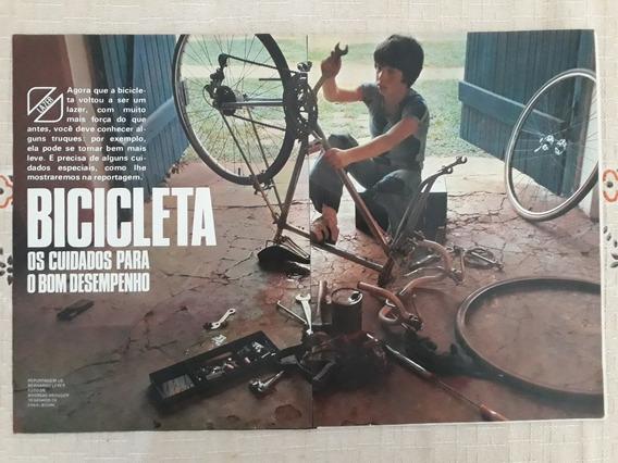 Recorte Matéria Cuidados Para Um Bom Desempenho P Bicicleta