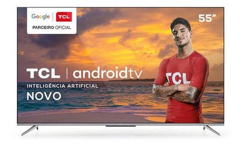 """Tv 55"""" Led TCL 4k - Ultra Hd Smart - 55p715"""
