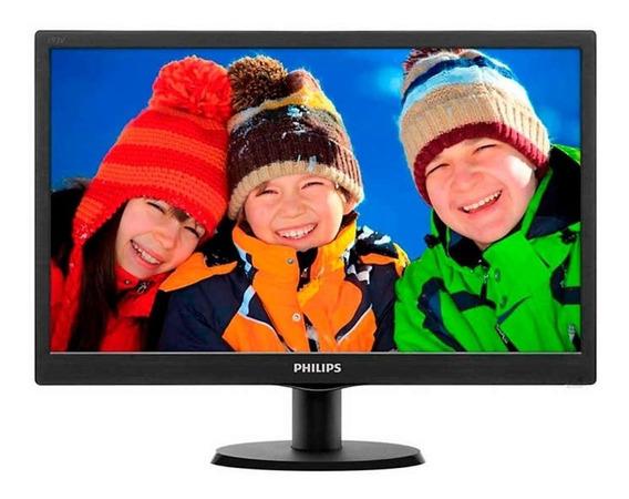 Monitor Philips 19 Pulgadas Led Hd 193v5lhsb2/55 Hdmi Cuotas