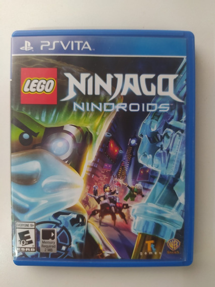 Ninja Go Nindroids - Ps Vita - Original Mídia Física