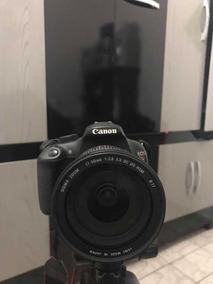 Canon T5 Com Lente Sigma 17-50 2.8, Lente 18-55, 2 Baterias