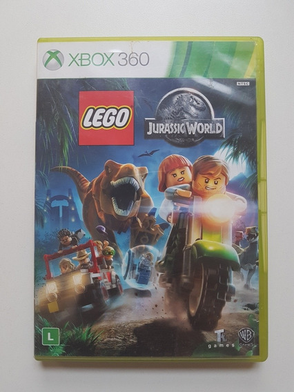 Lego Jurassic World Original Com Defeito Para Xbox 360