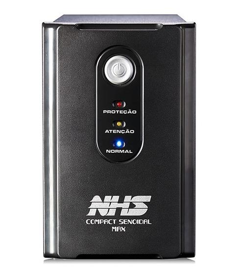 Nobreak Nhs Senoidal 1400va Compact Max Bivolt Engate Usb
