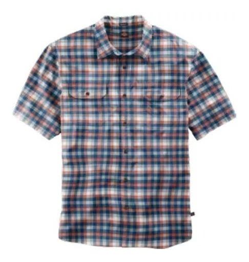 Dickies Ws 527 Swbn Camisa Manga Corta A Cuadros 100%algodón