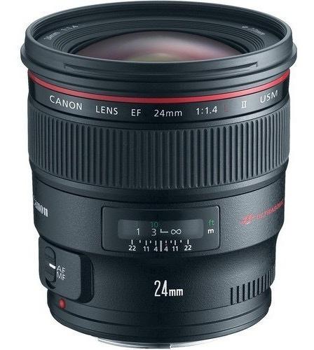 Imagem 1 de 2 de Lente Canon Ef 24mm F/1.4l Ii Usm