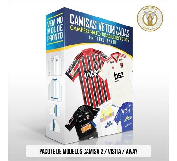Vetores Coreldraw Camisas 2 Brasileirão 2019 Série A