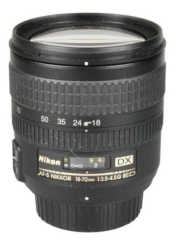 Objetiva Nikon Af-s 18-70mm F3.5-4.5g Ed Dx