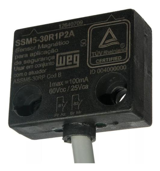 Sensor Magnético Com Atuador Ssm5-30rip2a Weg