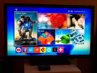 Lcd 42 Philips + Convertidor Smart Tv
