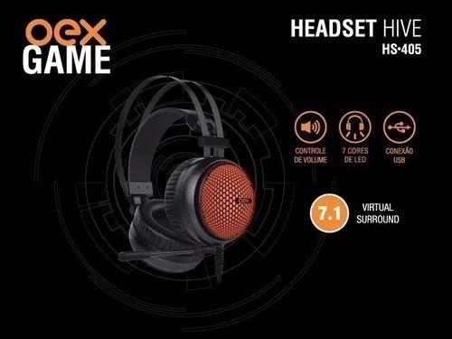 Headset Hive Hs 405 Oex Gamer