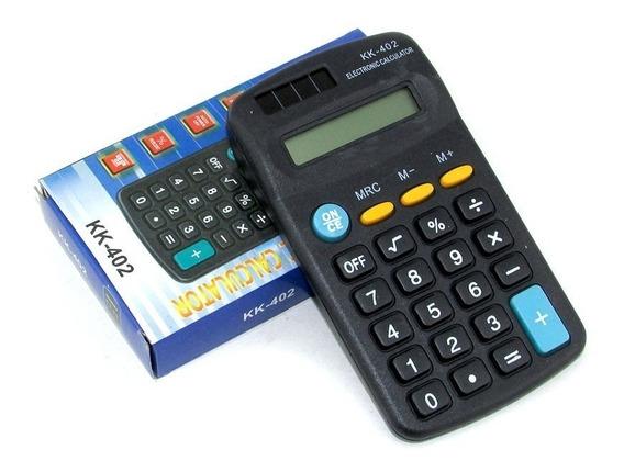10 Calculadoras Bolsillo Kenko 8 Digitos Kaos 11 Calculadora