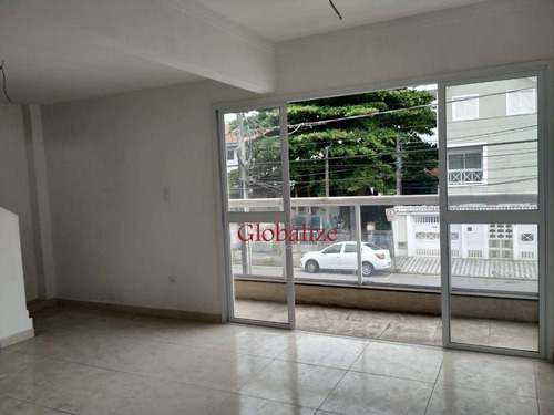 Sobrado Com 2 Dormitórios À Venda, 103 M² Por R$ 599.000,00 - Estuário - Santos/sp - So0041