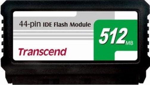 Ide Flash Module Dom 44 Pinos 512mb Transcend Ts512mdom44v-s