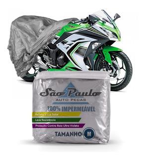 Capa Cobrir Moto Kawasaki Z 300 Impermeável Proteção Anti-uv