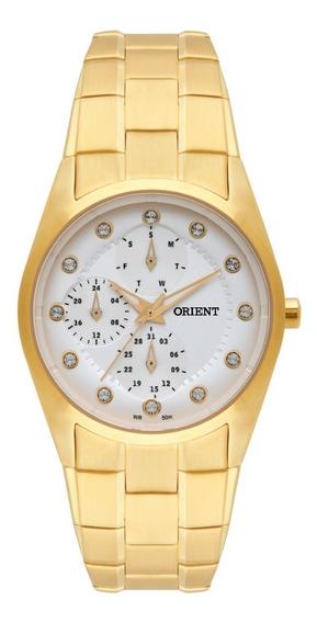 Relogio Feminino Banhado A Ouro Orient Original
