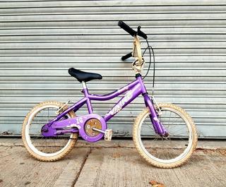 Bicicleta Vairo Violeta Rod.16 Cubre Cadena