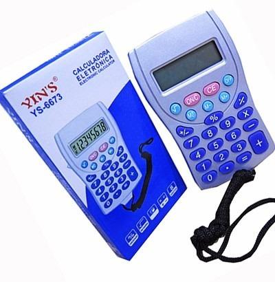 Eletrônica Calculadora 8 Dígitos Multiplicação Matemática