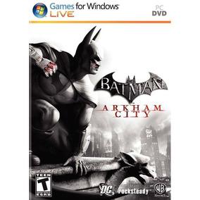 Batman Arkham City Pc Original Mídia Física Deslacrado