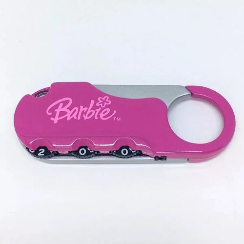 Imagem 1 de 2 de Cadeado Barbie Com Segredo Primicia - 1432