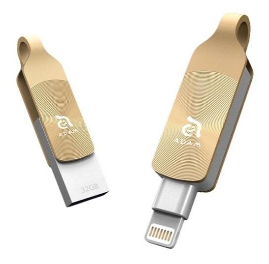Pen Drive 64gb P/ Iphones Ipads Elements Adam Iklips Duo+