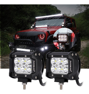 Barra Led Auxbeam 3600lm 36w Luz Blanca Carro / Moto