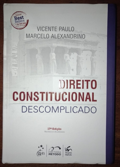 Direito Constitucional Descomplicado 17ªed