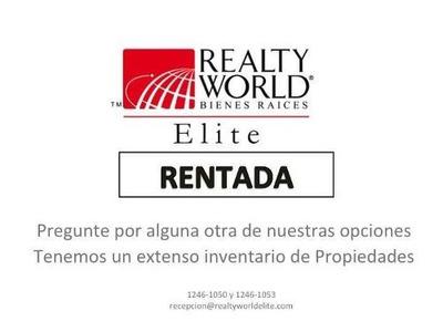 Casa De Renta En Fracc. Privado, Zona Carretera Nacional (mvo)
